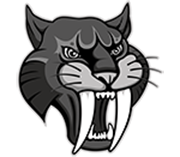 graphic of sabercat head