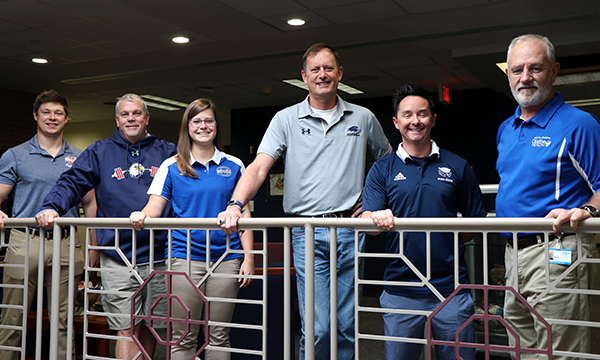 photo of six athletic trainers