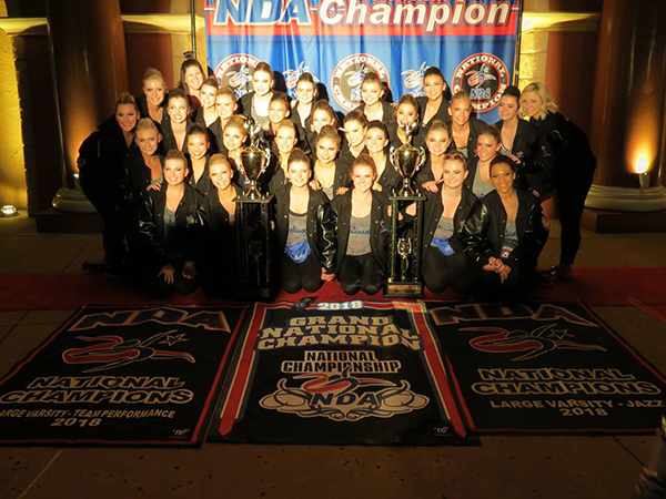 photo of Raven Dance Team and awards
